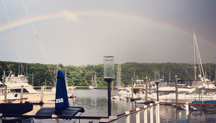 Rainbow Over Greenwich Bay