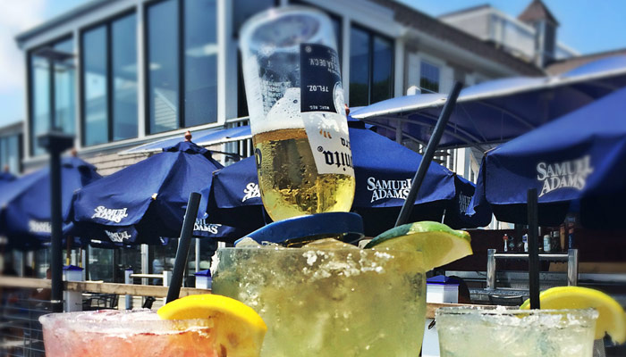 Enjoy a Coronarita at BLU On The Water