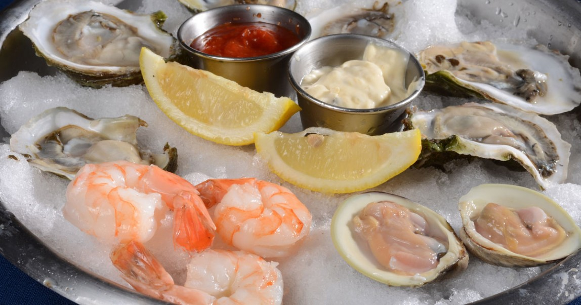 Enjoy Fresh Seafood At BLU On The Water