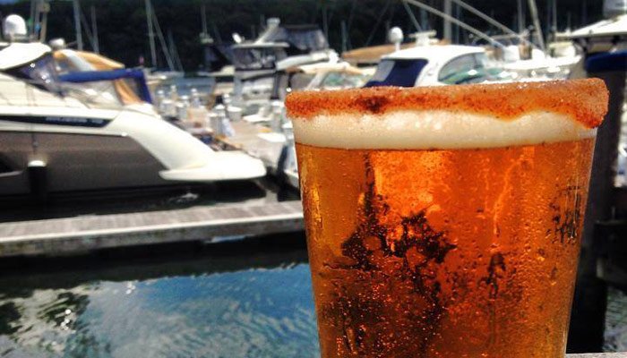 Enjoy A Craft Beer At Blue On The Water